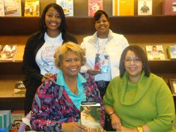 Virginia DeBerry and Donna Grant Book Signing at Barnes and Noble