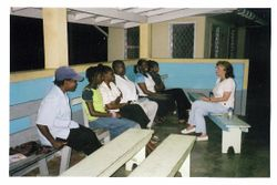 Counseling Young People in Mahaicony Guyana