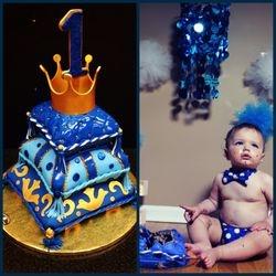 1st Birthday Pillow Cake