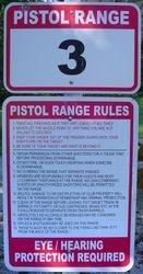 Pistol Range #3 Rules