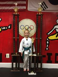 05/16/2015 S. Pavlou TKD Championships  Craig Macielinski  1st Place Forms  2nd Place Breaking  1st Place Sparring