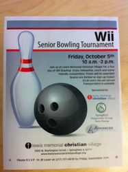 Wii Bowling Tournament