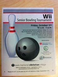 Wii Bowling Tournament