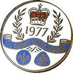 1977 Queen's Jubilee Metal Badge