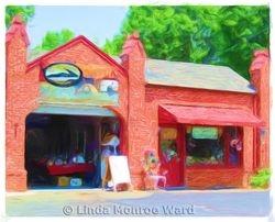 Old Holt gas station