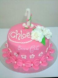 Pink Birthday Cake (B128)