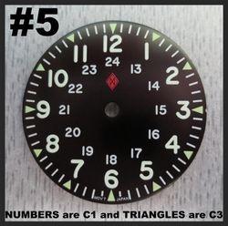 #5 MILITARY NO-DATE (C1 + C3)