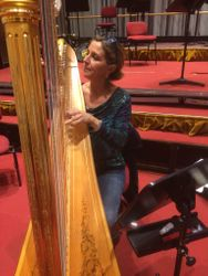Luisa Prandina getting ready at La Scala