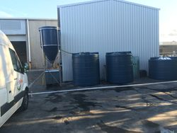Newly installed Bioreactor Recycle System