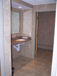 One of the New bathrooms