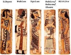 VARIOUS TRIBES ALONG WITH HEBREWS AND JOSEPH DIES