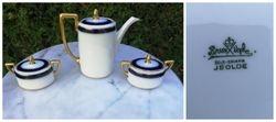 Rosenthal JSolde arbatinukas ir 2 cukrines. Kaina arbatinukas 37, cukrines po 27