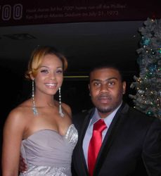 "Demetria McKinney & John Williams Attended The ""Atlanta Tribune 25th Anniversary"" at Turner Fields 757 CLub"