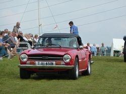 TR6 classic sports car
