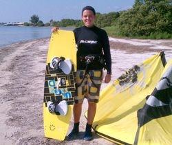 Allison - Kiss The Sky Kiteboarding kitesurfing