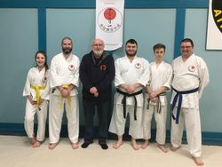 Clive with students of IJR