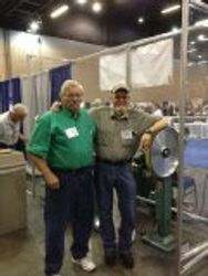Tom McGinnis and Tony Bose at Atlanta Blade show 2014