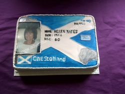 Bus Pass Cake