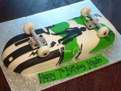 Skateboard Cake 1