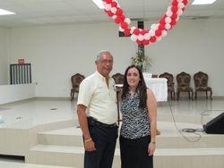 Edwin Flores y Dalia Feliciano