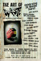 NY Waste 20th Anniversary Art Show