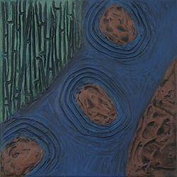 River Reeds, Acrylic, 11x14, Original Sold