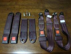 Zenki Rear seatbelt set/ front buckles
