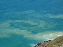 Circling sand