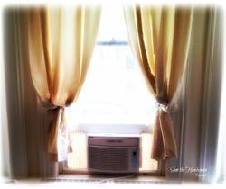 Window AC installation