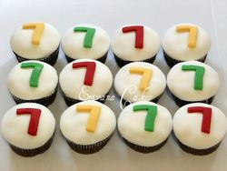Numbers Cupcake