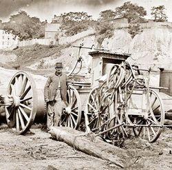 Old pump fire engine