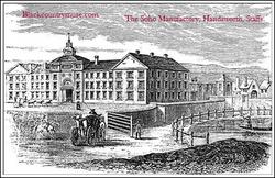 Handsworth, Staffordshire. c 1770.