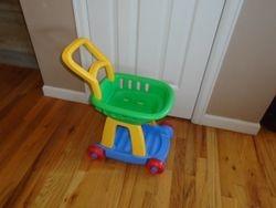 Fisher Price Shopping Cart- $17
