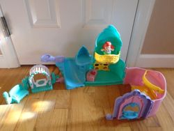 Fisher Price Little People Disney Princess Ariel and Flounder Playset - $25