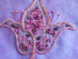 Gwenda's embroidery