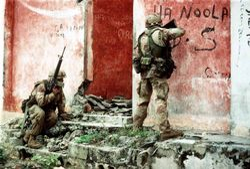 Gulf War 1 Infantryman: