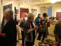 Opening night of Jennifer's exhibition