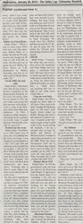 Edward Fisher News Article - Part 2