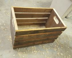 Storage Crate from Reclaimed Lumber