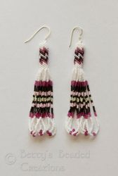 Tubular Peyote Earrings