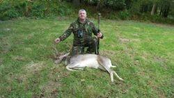 Adrian's first deer