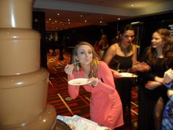 marriott hotel, chocolate fountain hire by sweet candy dreams