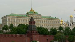 Moscow, the Great Kremlin Palace
