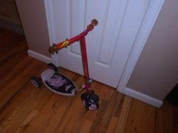 Huffy Disney Lightning McQueen 3-Wheel Preschool Scooter - $10