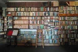 Interior of Smiths Book Shop Christchurch