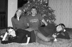 Our son David & his family Christmas 2008