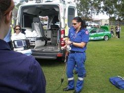 Ambulance presentation