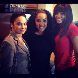 "Jasmine Guy, JamPoet & Demetria McKinney on ""TableScrap TV"" on December 4, 2012"