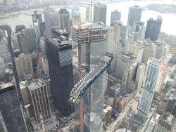 Escalator of the New World Trade Center