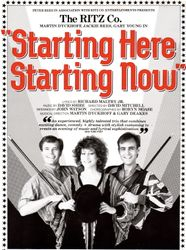 Starting Here Starting Now 1984